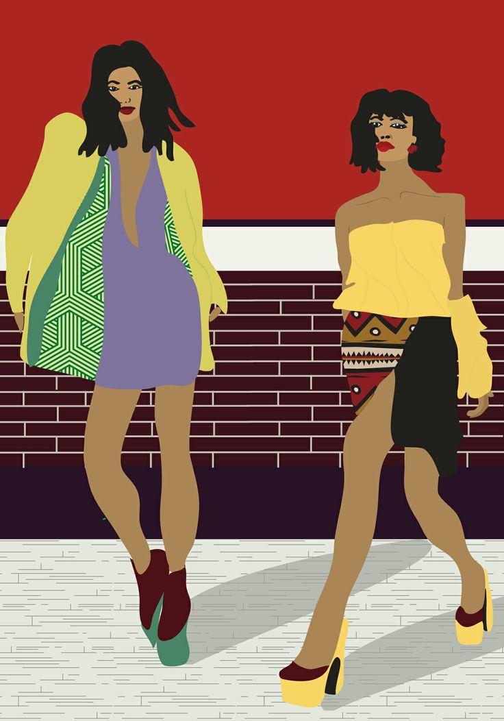 Fashion #illustration #digital #fashion