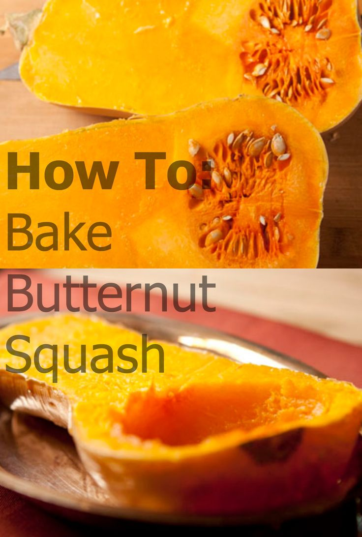 HOW TO: Bake Butternut Squash #howto