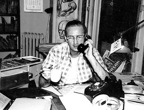 Steve Ditko,artist/writer/co-creator of Spider-Man.