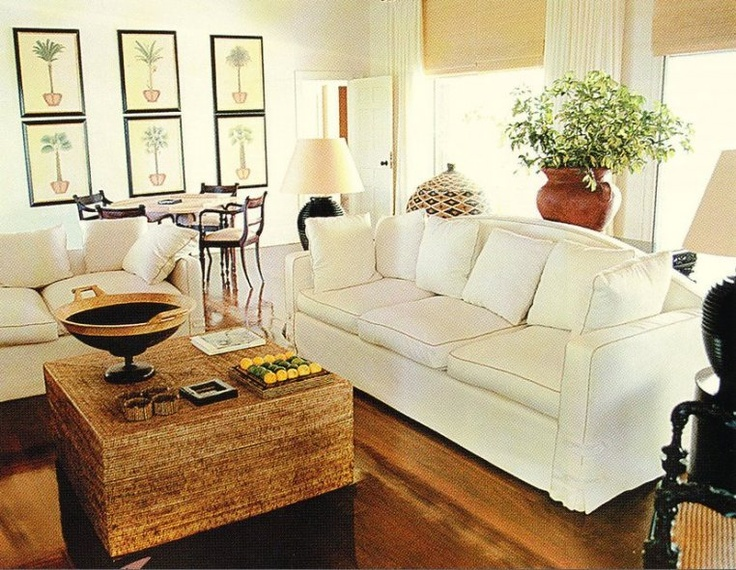 Love how the white sofa accents the beautiful wooden floor.: Country Casual, Coffee Table, Dream, Decorating Living Rooms, Decorating Ideas, Room Decor, House, Room Design