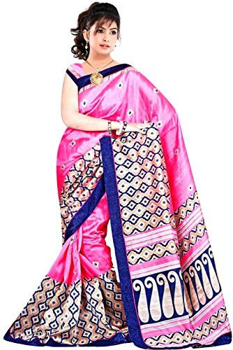 Khazanakart Women's Printed Bhagalpuri Silk Saree with Un... http://www.amazon.in/dp/B01CGQT6P0/ref=cm_sw_r_pi_dp_ITmHxb1PC3PX1
