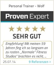 Bewertungssiegel | ProvenExpert.com