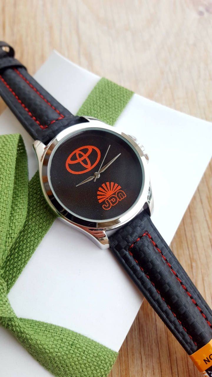 Minimalist Black Toyota JDM Watch with Black Carbon Racing Strap, Handmade Mens Watch, Motorsport Watch, Exclusive Watch, Boyfriend Gift by IrishFashionWatches on Etsy