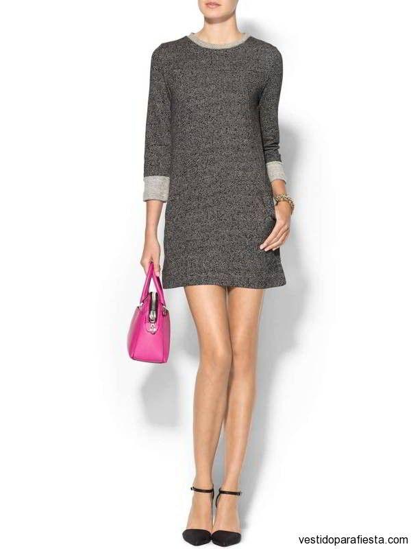 Vestidos cortos de moda casual invierno 2014 – 32 - https://vestidoparafiesta.com/vestidos-cortos-de-moda-casual-invierno-2014/vestidos-cortos-de-moda-casual-invierno-2014-32/