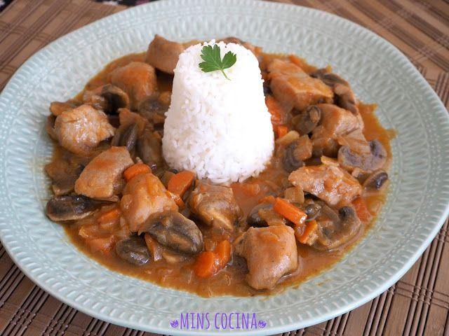 Mins Cocina: Pavo al curry rojo tailandés