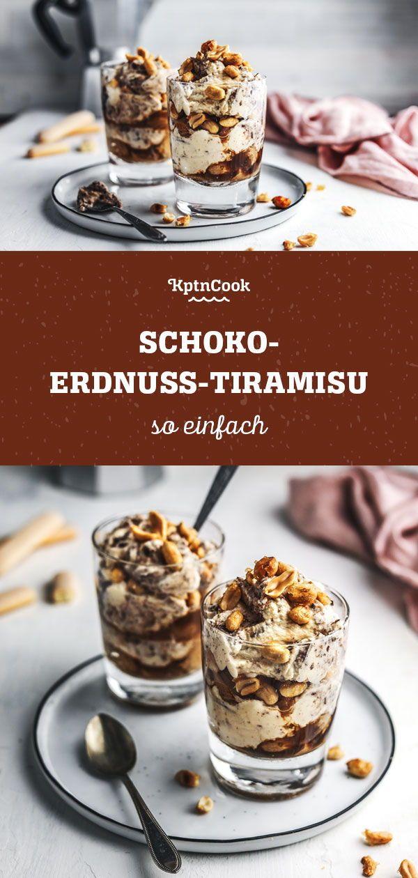 Schoko Erdnuss Tiramisu Rezept In 2019 30 Minuten Rezepte Von