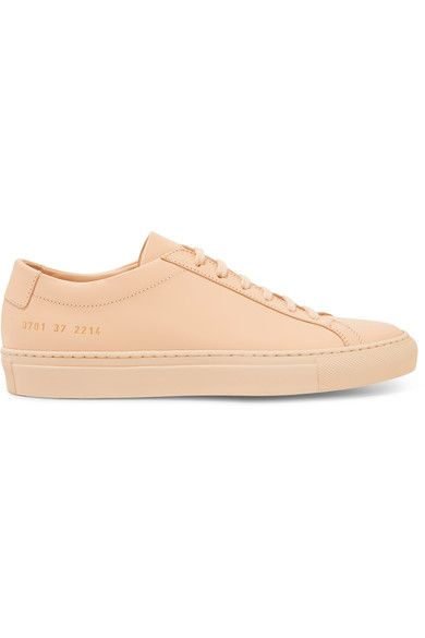 Rubber sole measures approximately 25mm/ 1 inch Beige leather Lace-up front Made in Italy