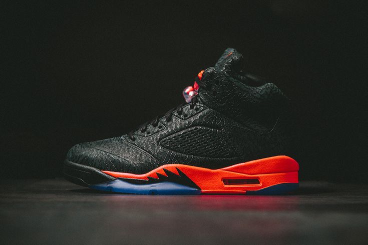 Outlet Nike Air Jordan 5 Retro Suede 3Lab5 Black Infrared 23