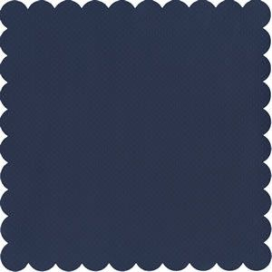 BAZZILL MEDIUM SCALLOP SQUARE DEEP BLUE DOTTED SWISS : Sugar and Spice Crafts, the Art of Scrapbooking