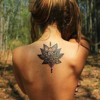 beautiful back tattoo