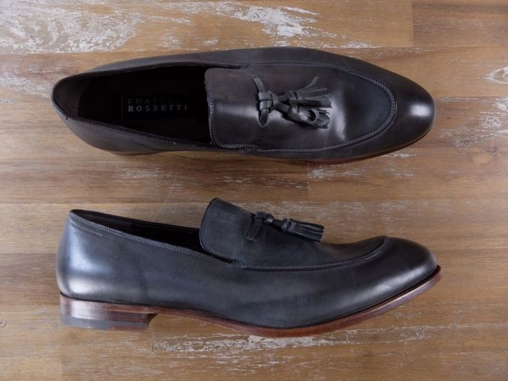 auth FRATELLI ROSSETTI tassel loafers shoes - Size 8 US / 7 UK / 41 EU in Clothing, Shoes & Accessories, Men's Shoes, Dress/Formal | eBay