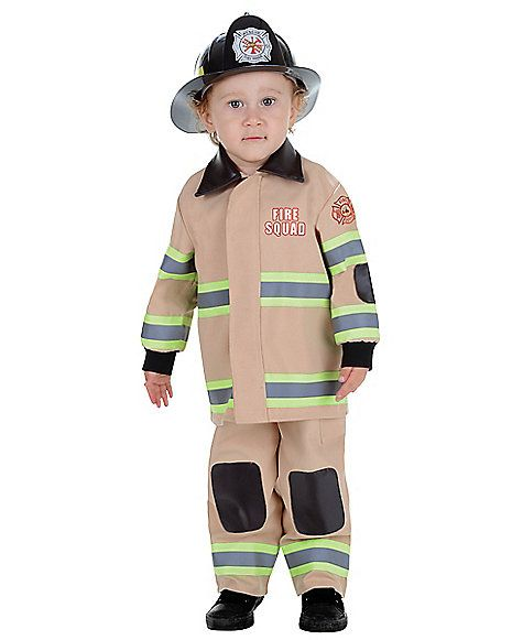 Toddler Fireman Costume - Spirithalloween.com