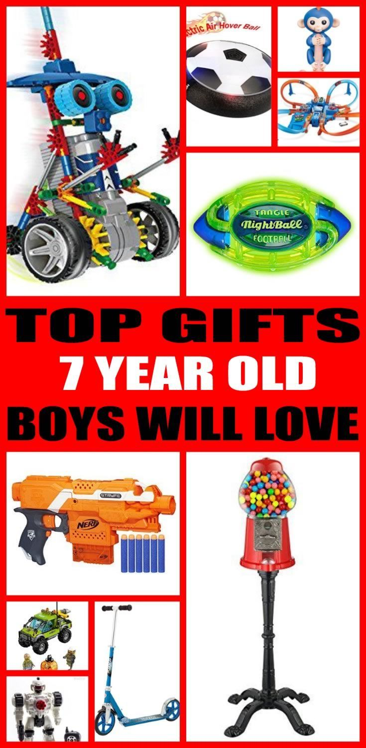 Find The Best Gifts For 7 Year Old Boys Kids Would Love A Gift From This Ultimate Guide Toys And Non Toy Perfect