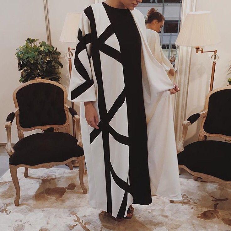 IG: Blanc.Official    Abaya Fashion    IG: Beautiifulinblack