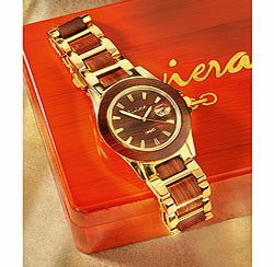 Riviera Wooden Watch Recalling an era of vintage cars and elegant wooden speedboats, the Riviera watch is a true meeting of tradition and fashion. A move away from today's modern synthetic materials, wooden watches are ve http://www.comparestoreprices.co.uk/other-products/riviera-wooden-watch.asp