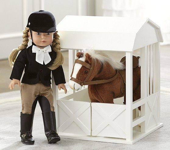 Special Edition Penelope Equestrian Götz Doll | Pottery Barn Kids