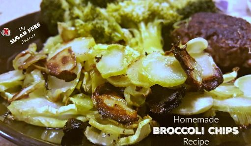 Broccoli Chips Recipe If you haven't already noticed, I'm a pretty frugal guy. That's why I do the coupon list for real food and have an entire website dedicated to teaching people how to save money at Walmart. (and my wife has on that teaches people how to save at any grocery store.) Being a frugal guy, I usually buy the full broccoli stalks at the store instead of paying more for just the crowns but I always felt like I wasn't getting my money's worth. I mean what do you...