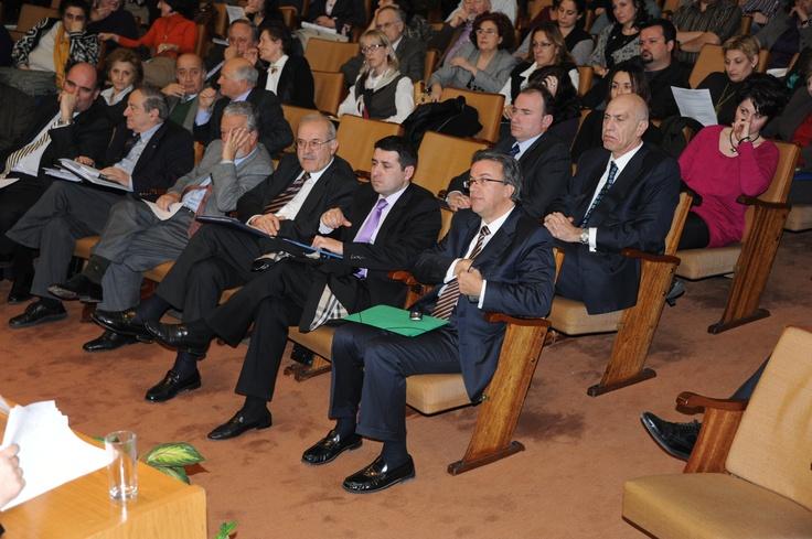 Ο Συνήγορος του Καταναλωτή κ. Ευάγγελος Ζερβέας στην ημερίδα της Ομοσπονδίας Εργαζομένων Ανεξάρτητων Αρχών - 18.2.2011
