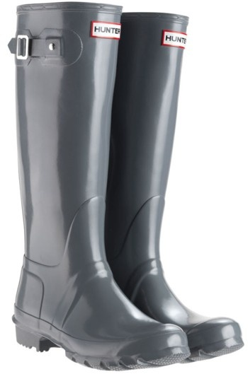 Hunter Wellies Graphite | Boots, Hunter boots, Womens