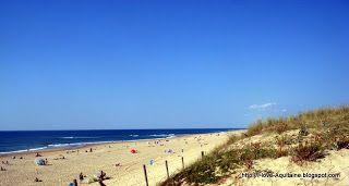 The beach, Messanges, Aquitaine