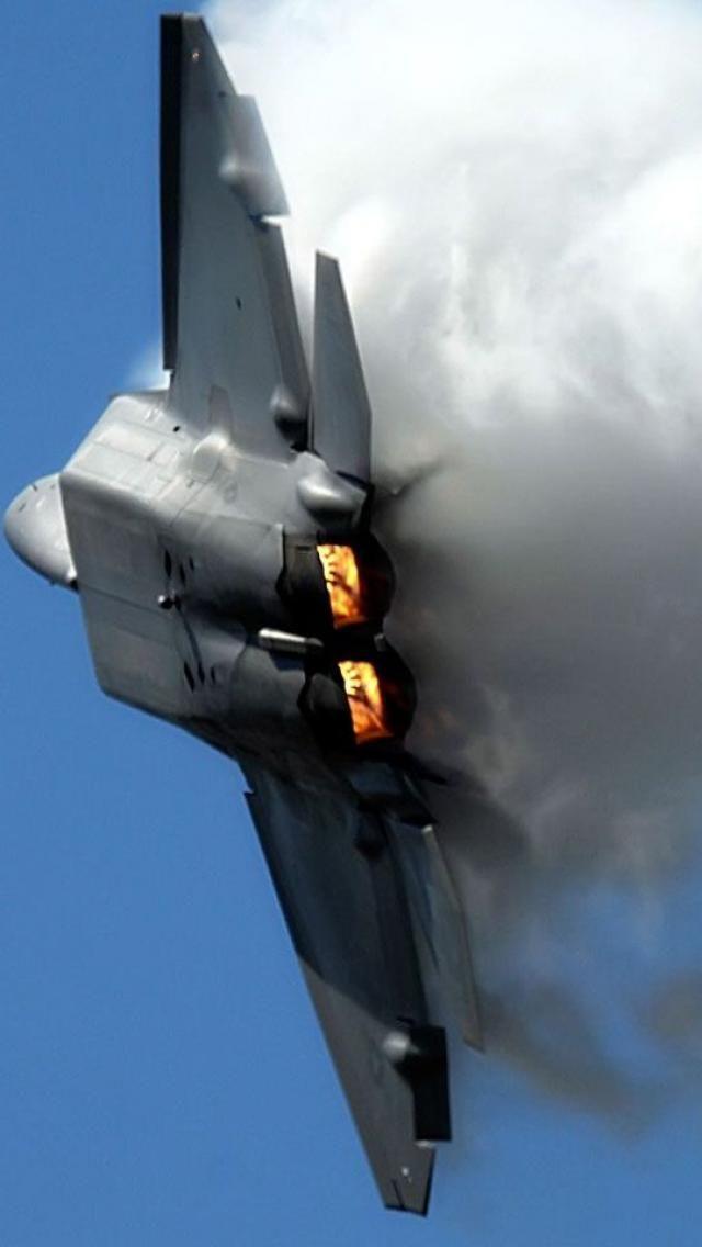 F-22 Raptor #Aviation #Military #airforce