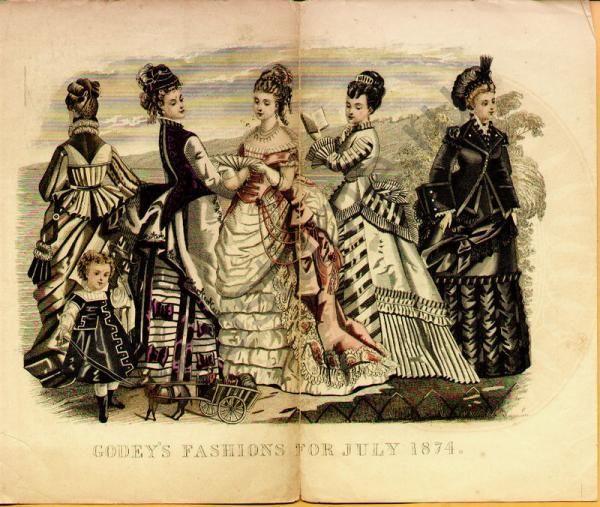Костюмы америки 19 века