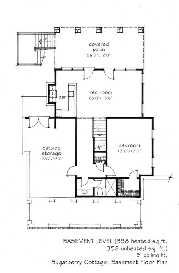 1000 images about building plans on pinterest floor for Cottage house plans with basement