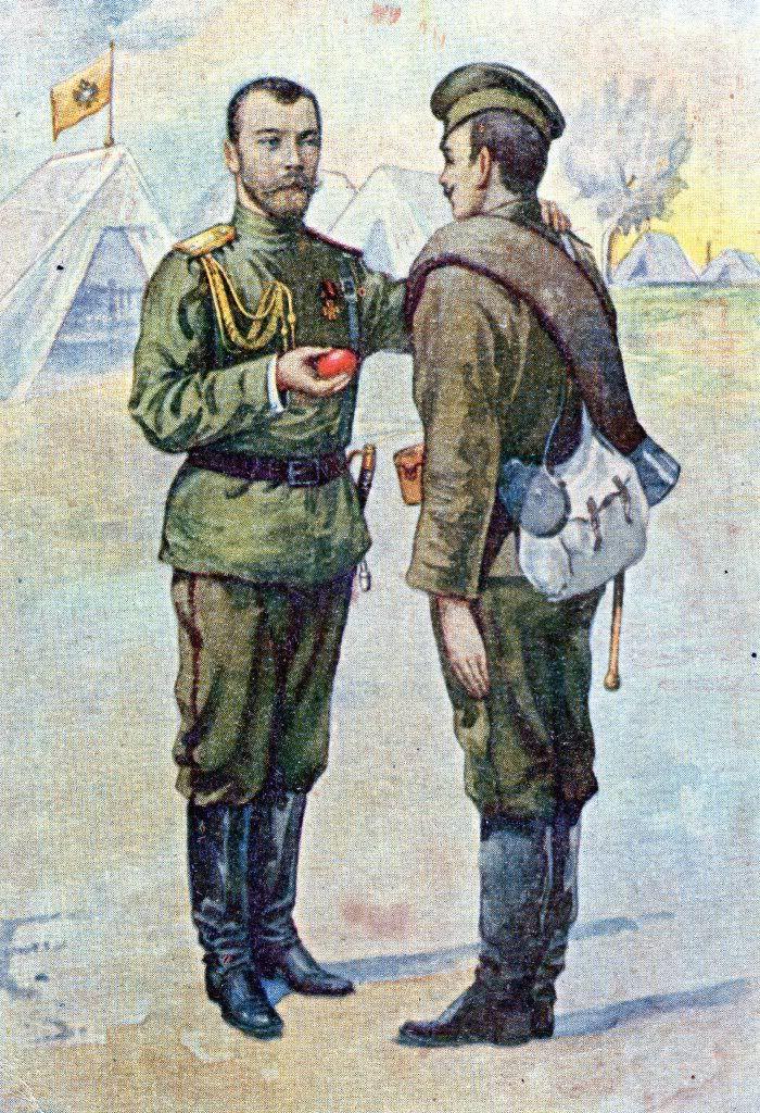 Подруга, русский солдат открытка