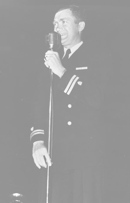 In 1941, Buddy Ebsen decided to apply for a Navy commission but was turned down even though he was spending time teaching seamanship to Naval Reserve OCS candidates.  Ebsen applied for a commission in the Coast Guard.  He was accepted and commissioned a Lieutenant (jg) in the Coast Guard.  He served on the Navy frigate USS Pocatello, a weather ship that served on Station Able.  He was honorably discharged a Lieutenant in 1946.