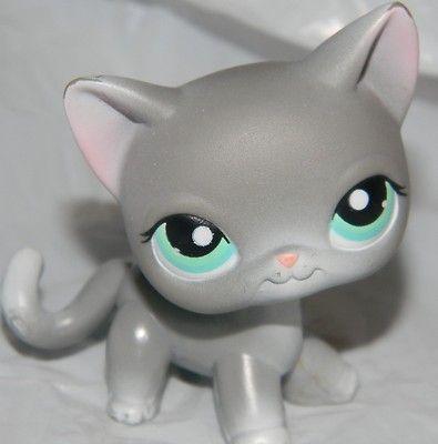 Littlest Pet Shop Cat Gray