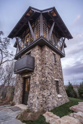 Vertical Entertaining Tower House For Guests Tower
