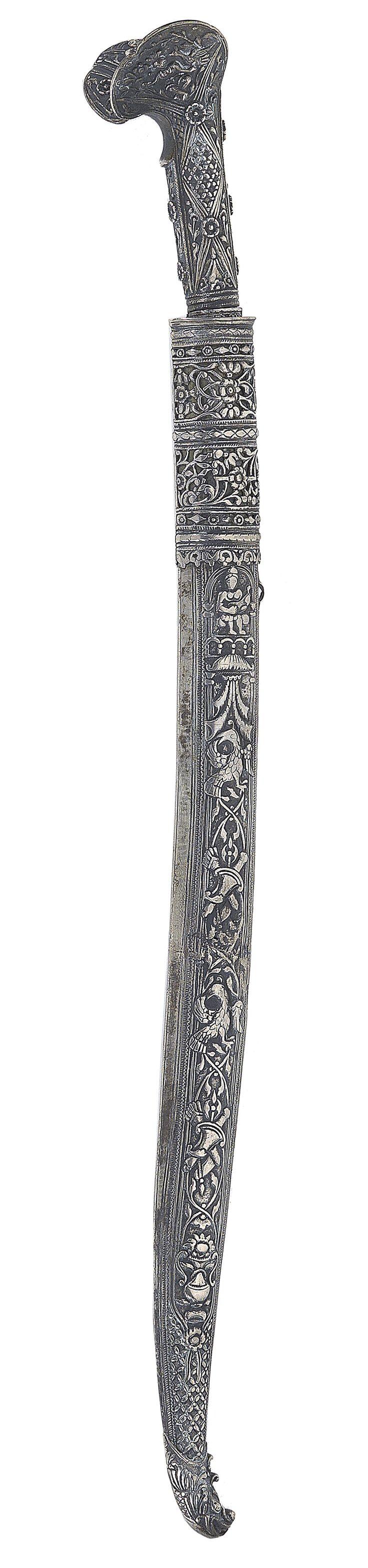 Silver Yataghan, Ioannina,1st half of 19th Century
