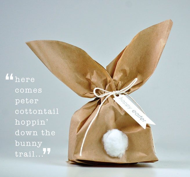 Schöne Verpackungs-Idee für Ostern! #easter
