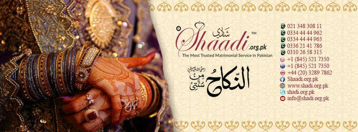 Aaj hai register karain aur behtareen rishta payee. http://www.shaadi.org.pk Registered & Recognized by Government of Pakistan #Shaadi #Wedding #Matrimonial #Proposal #PakistanMatrimonial