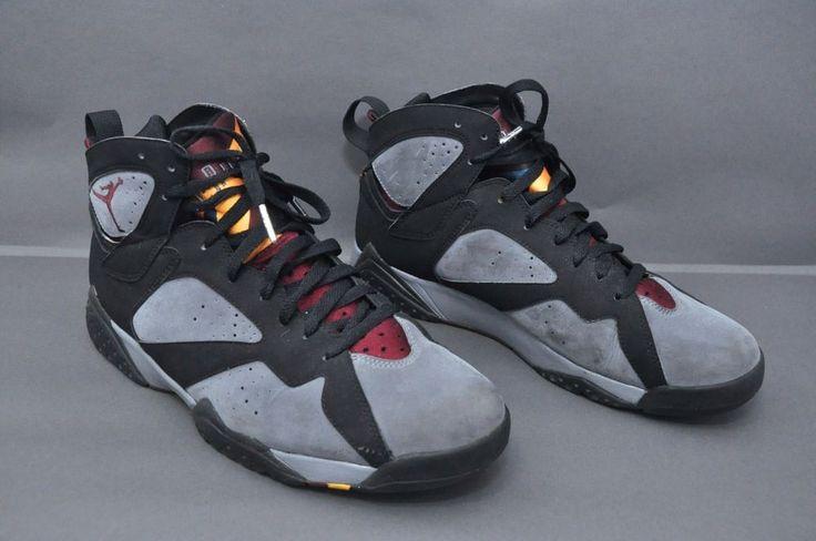 65c5e90232d Nike Air Jordan VII 7 Retro Black/Graphite-Bordeaux 2011 304775-003 SZ 12 # Jordan #BasketballShoes | Sneakers/Shoes/Boots | Pinterest | Nike, Nike air  and ...
