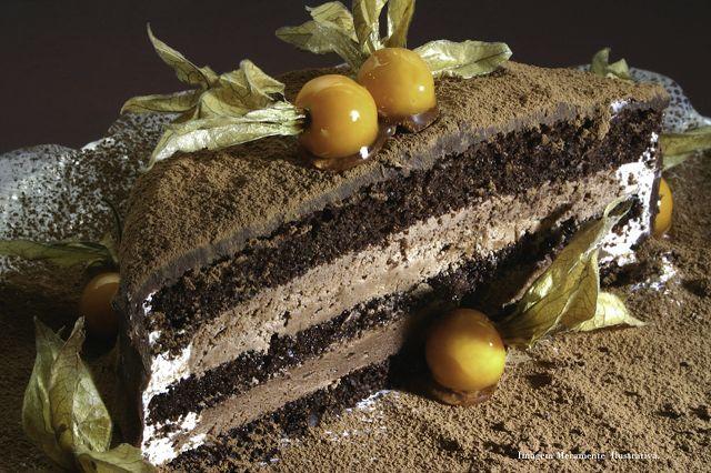 Receitas Com Amor Fica Mais gostoso: Bolo Mousse de Chocolate, feito com amor fica mais...