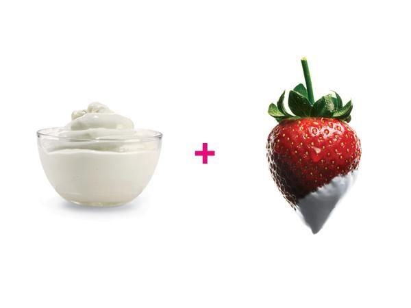 15 Healthy Food Combinations : Nonfat Greek yogurt + strawberries http://www.prevention.com/food/healthy-eating-tips/15-healthy-food-combinations?s=11