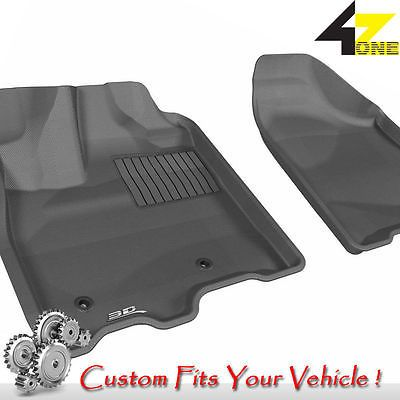 3D Fits 2013-2015 Toyota Sienna G3AC60602 Black Carpet Front Car Parts For Sale