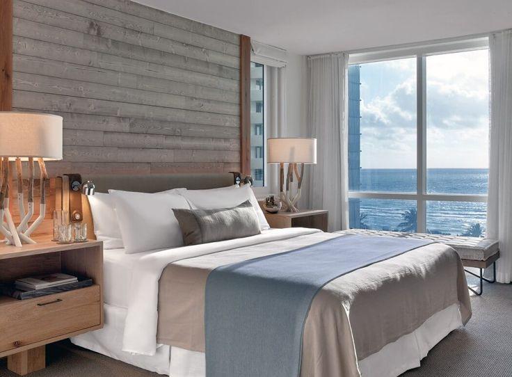 Bed linen styling: 1 Hotel South Beach by Meyer Davis Studio