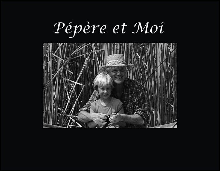 """Pépère et Moi 4""""x6"""" Photo Frame"""
