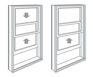 Double-Hung &<br />Single-Hung Windows
