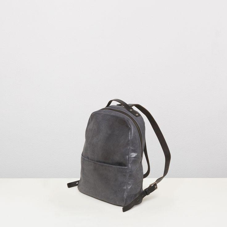 Womens leather rucksack in black | Ally Capellino | Ally Capellino