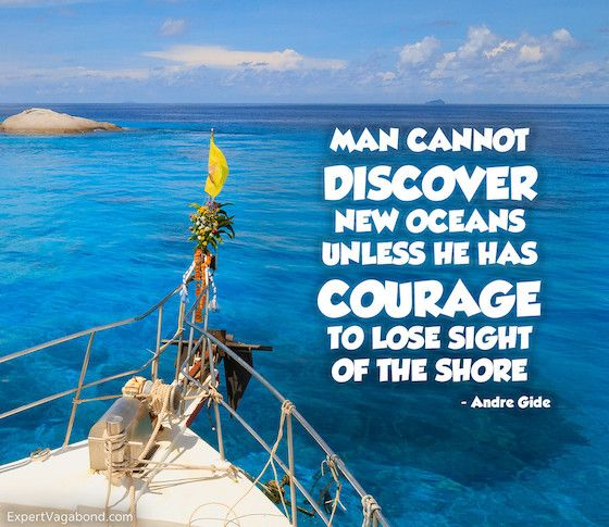 The Compleat Traveller: Man Cannot Discover New Oceans