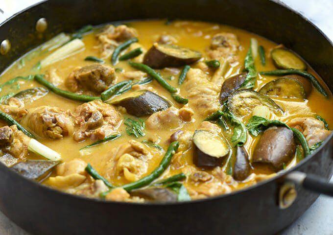 Chicken Kare-Kare   Recipe   My Fav  Pinoy Food   Kare kare