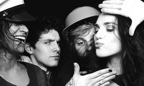 Angel Coulby Colin Morgan Bradley James And Katie