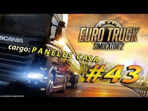 Euro Truck Simulator 2 #43 Cargo: PANELES CASA  + Twin Wheel FX Genius