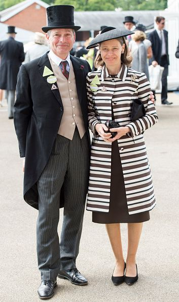 Sarah Chatto and Daniel Chatto on day 1 of Royal Ascot at Ascot Racecourse on June 16, 2015 in Ascot, England.