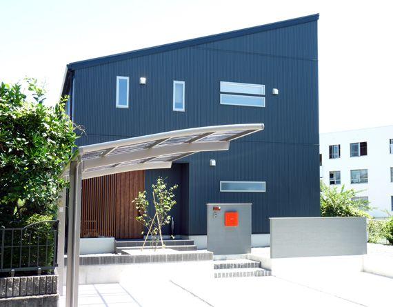 片流れ屋根の家   静岡の注文住宅なら片瀬建設