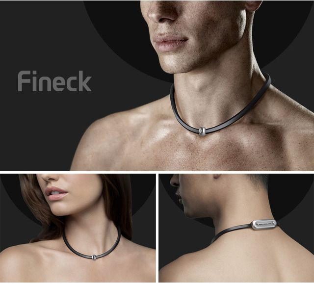 Fineck: The World's First Wearable Device For Your Neck by Veari — Kickstarter