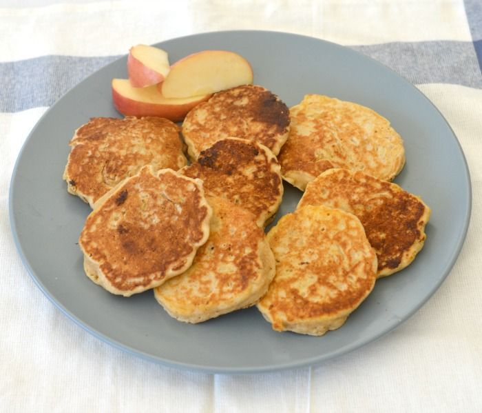 These Thermomix Apple and Cinnamon Pikelets make a great easy breakfast, lunchbox and after school snack! My boys LOVE making (and eating!) pikelets,